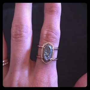 Kendra Scott Elyse Rose Gold Ring